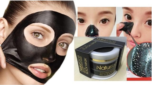 Naturface Siyah Maske